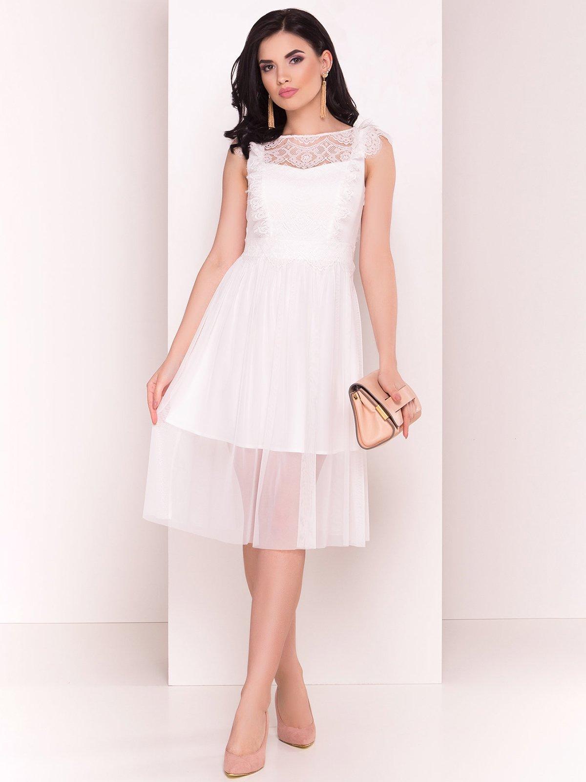 Сукня молочного кольору | 4326564