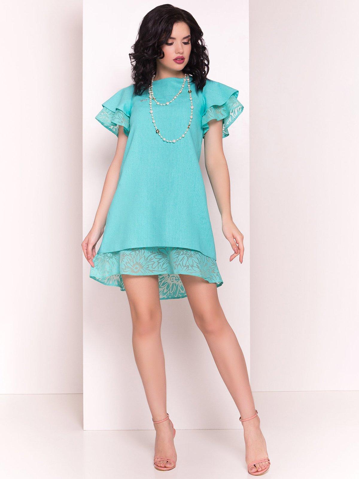 Сукня м'ятного кольору | 4326588