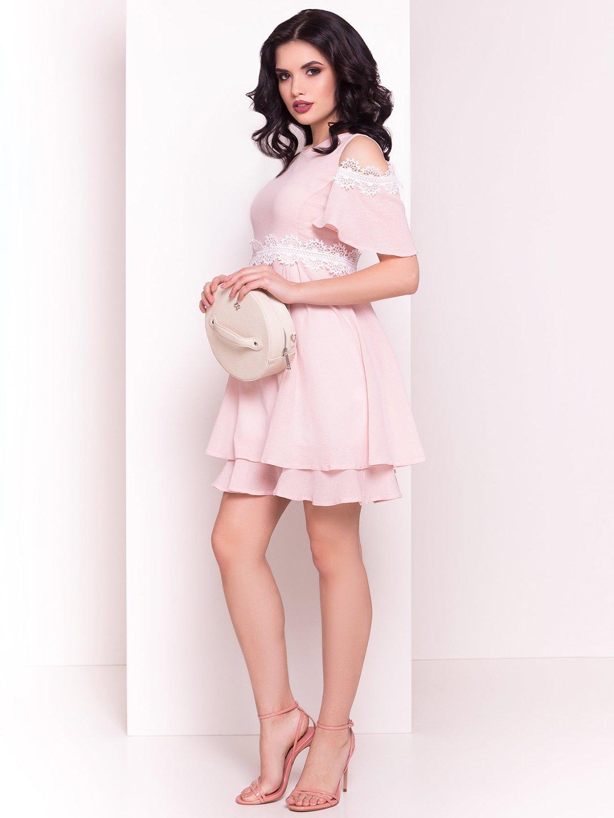Сукня пудрового кольору | 4326662