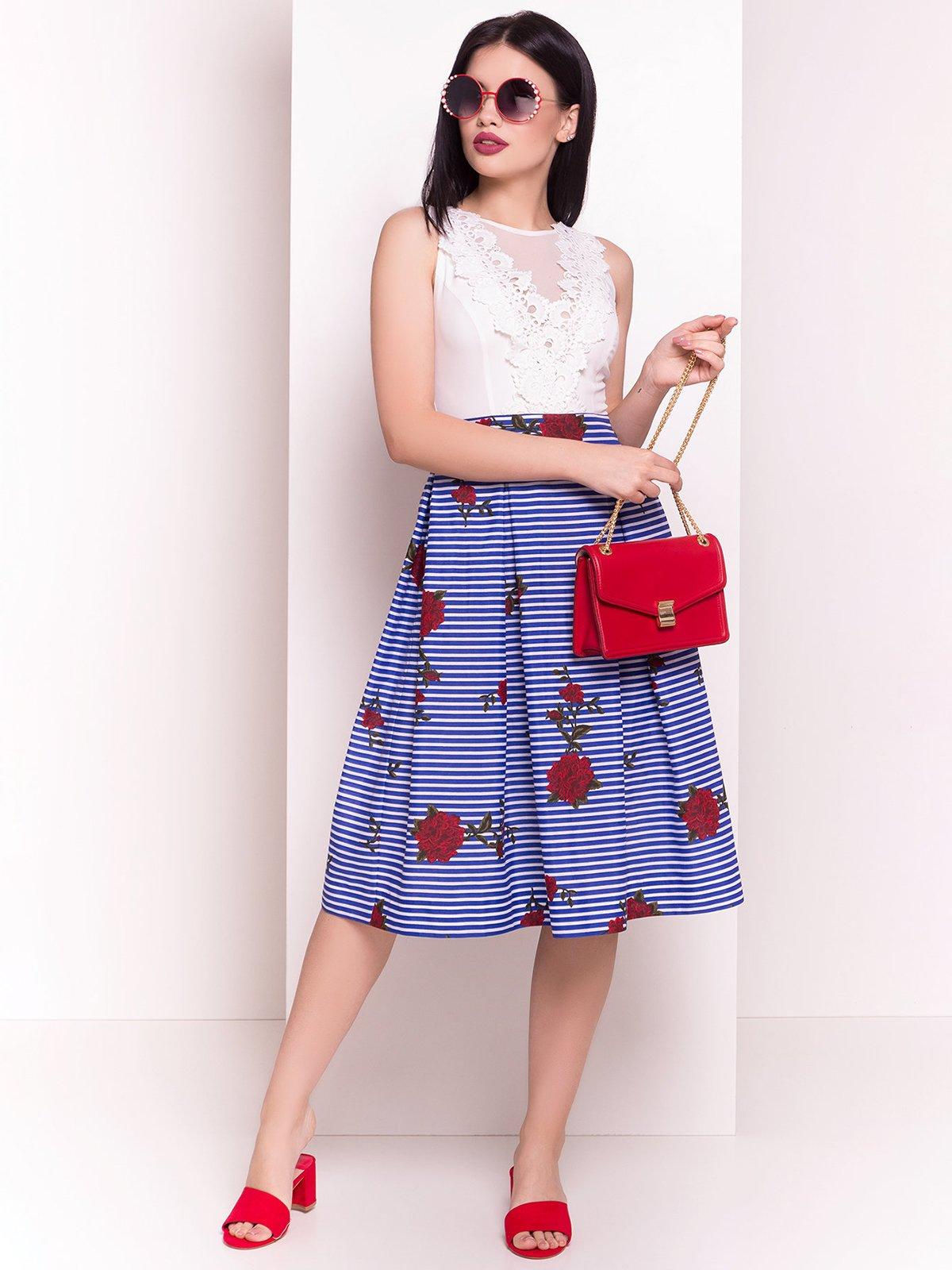 Сукня двоколірна | 4326671
