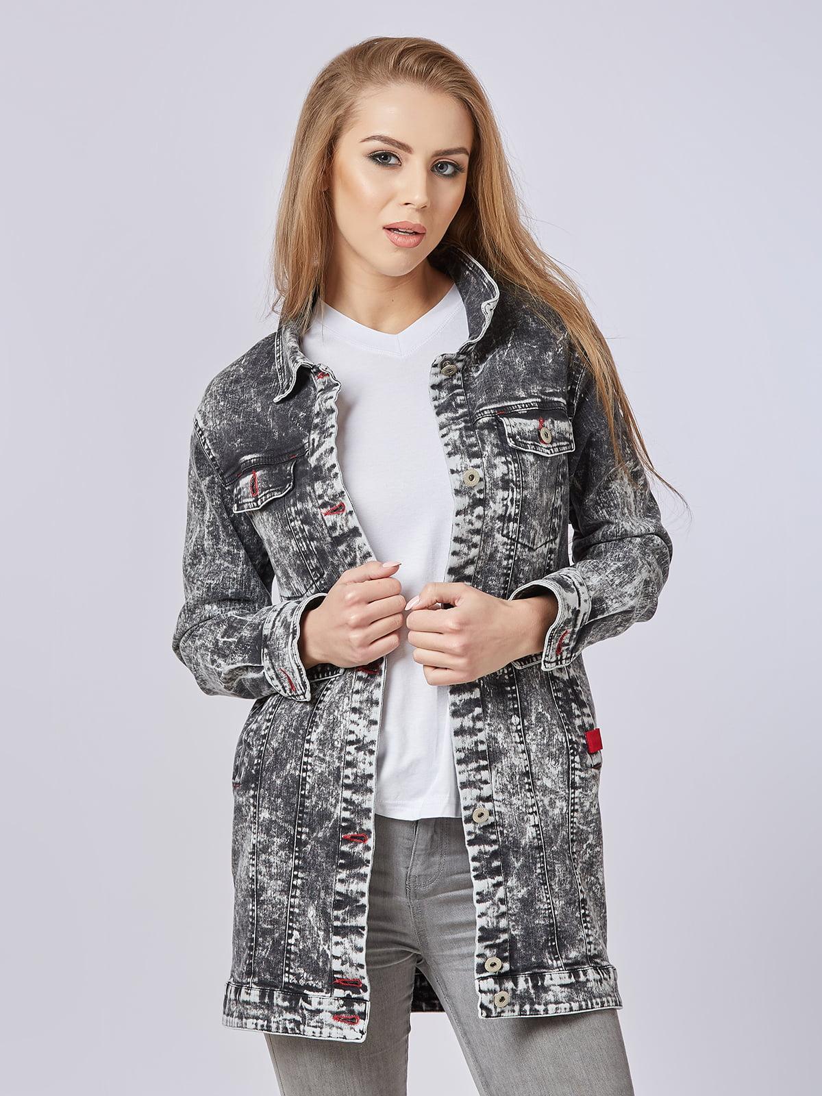 Куртка чорна | 4327655