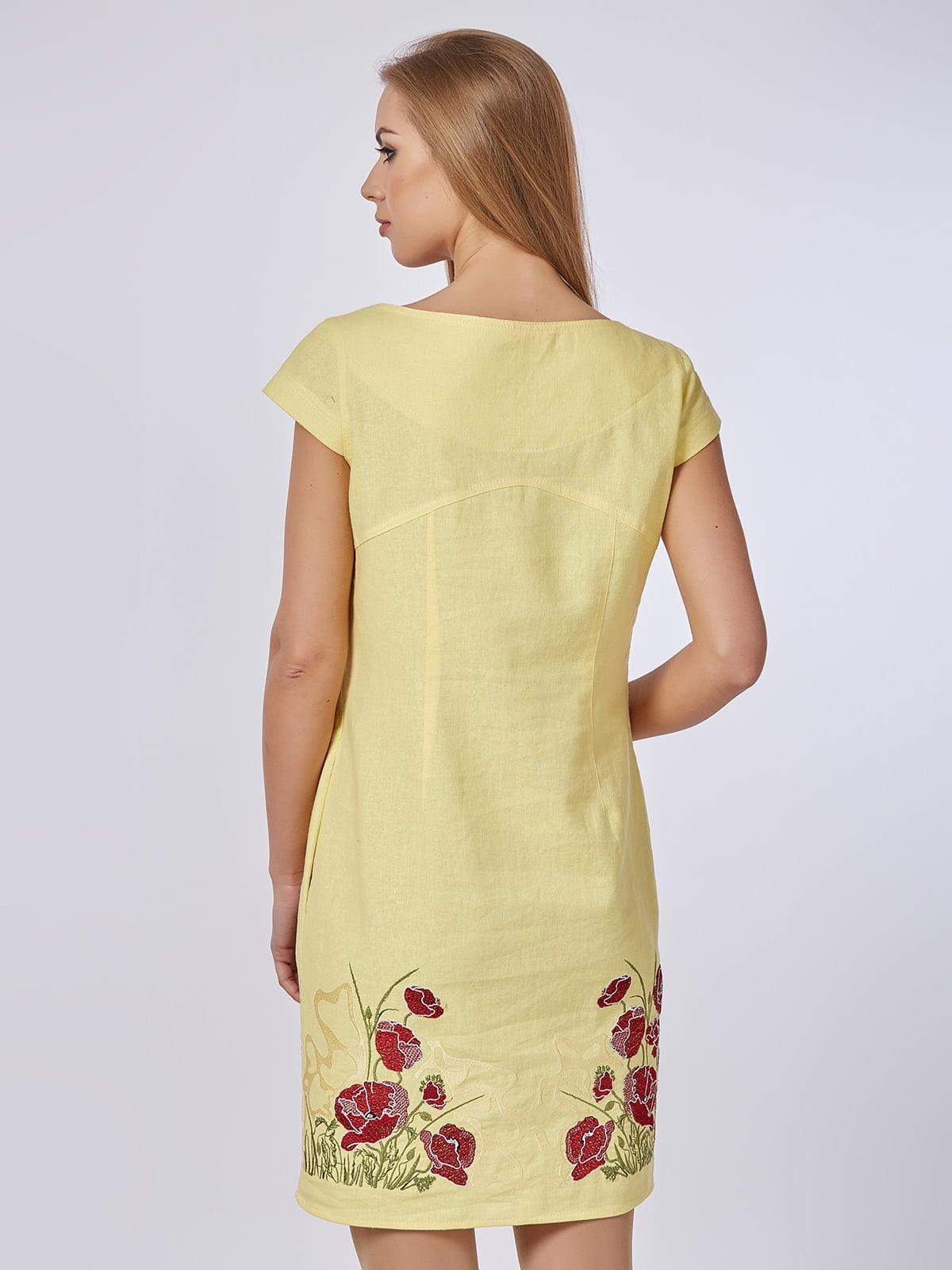 Сукня жовта | 4327652 | фото 2
