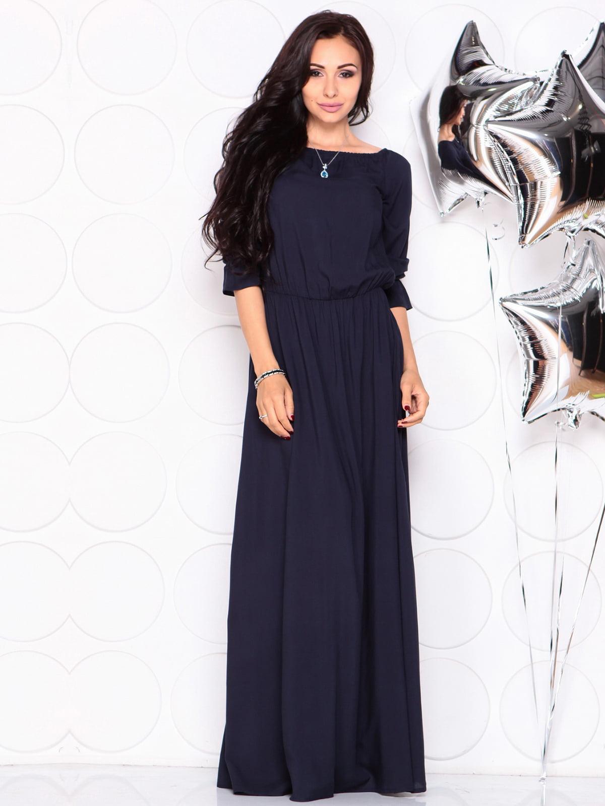 Сукня темно-синя | 4331723