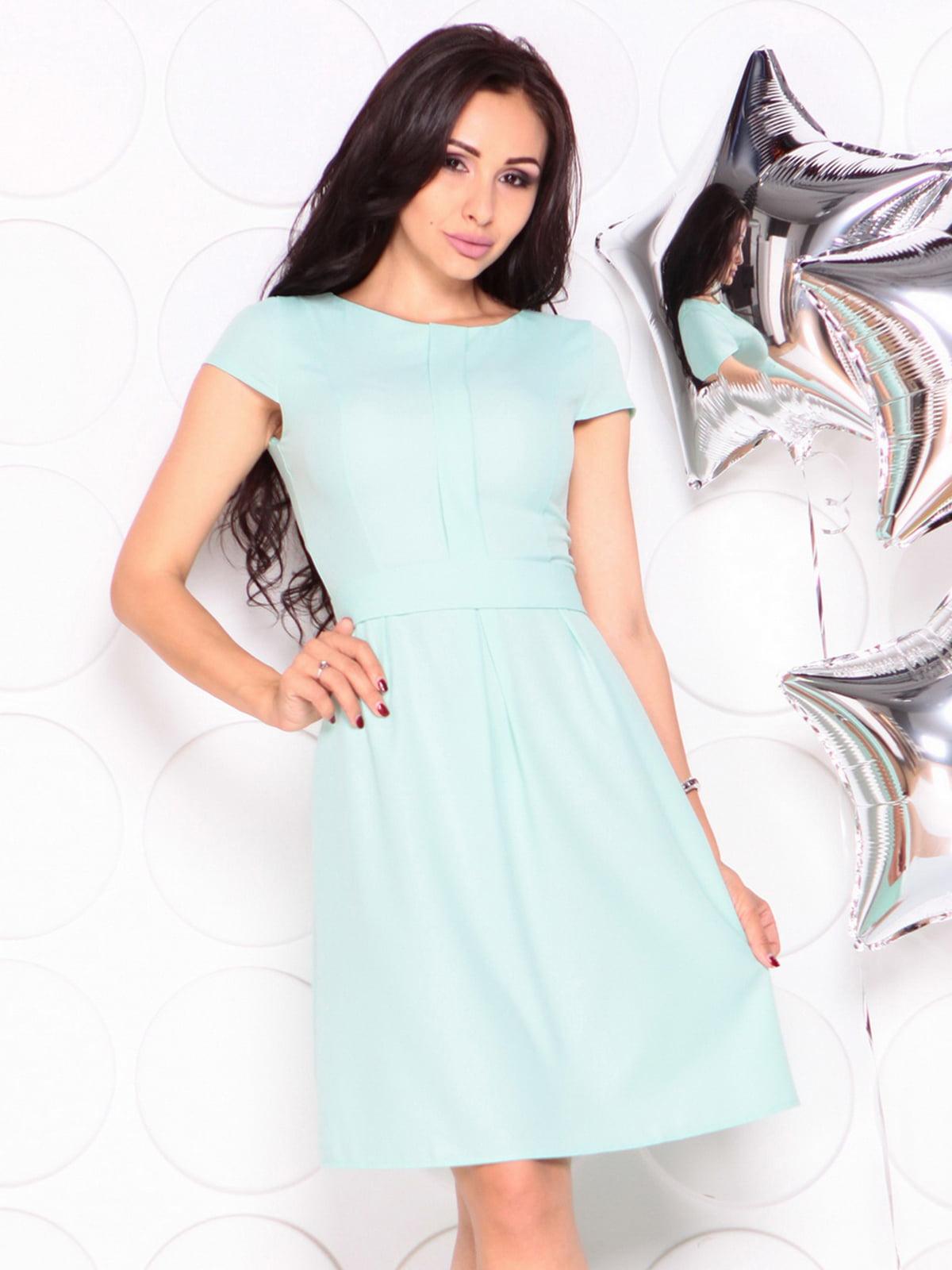 Платье светло-ментолового цвета | 4331725