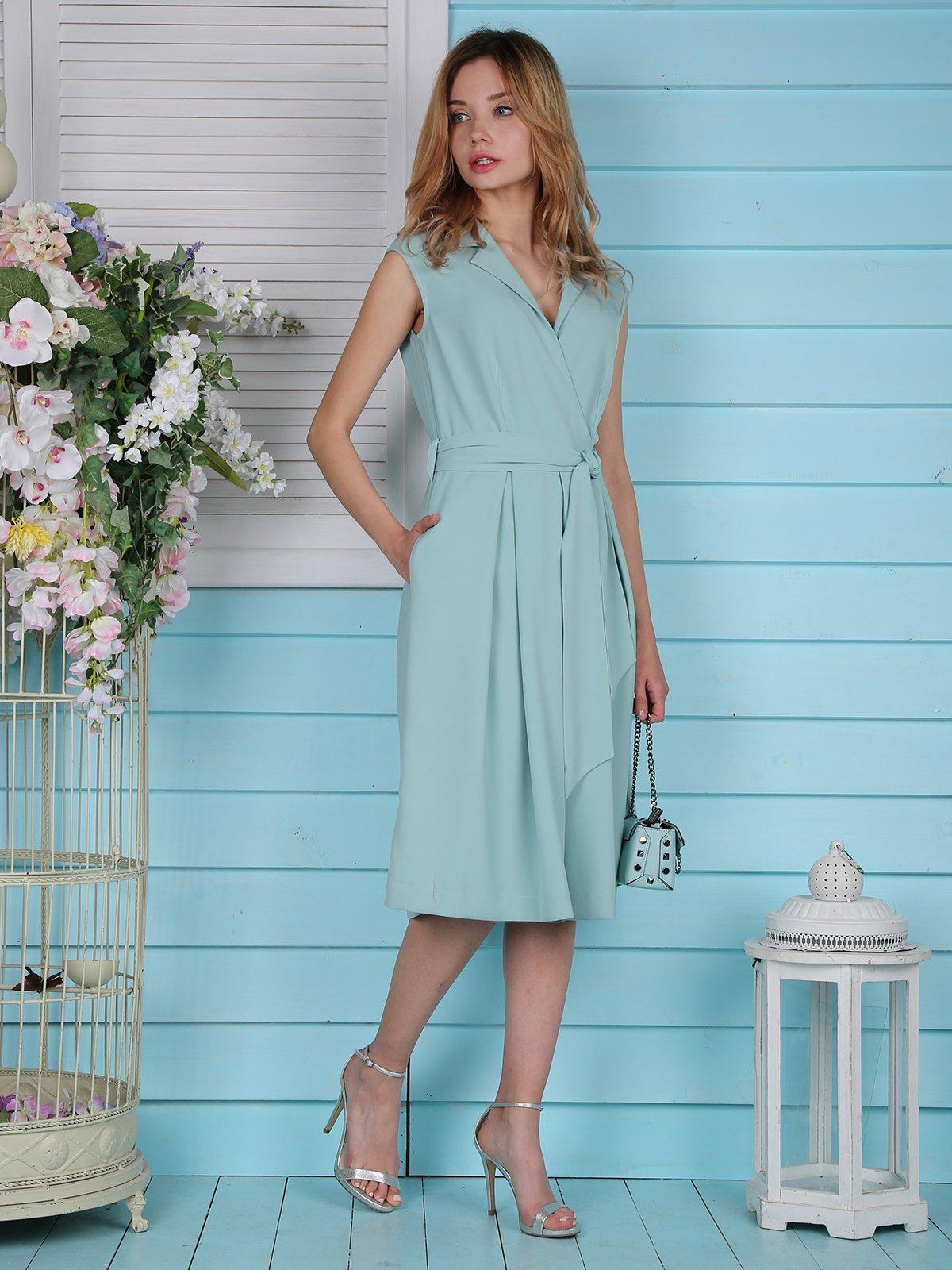 Платье голубое | 4334499