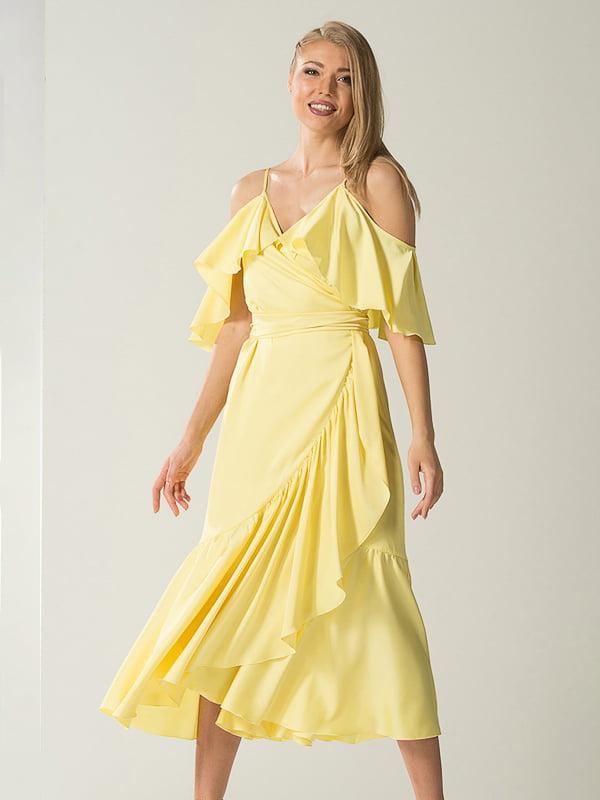 Платье желтое | 4068394