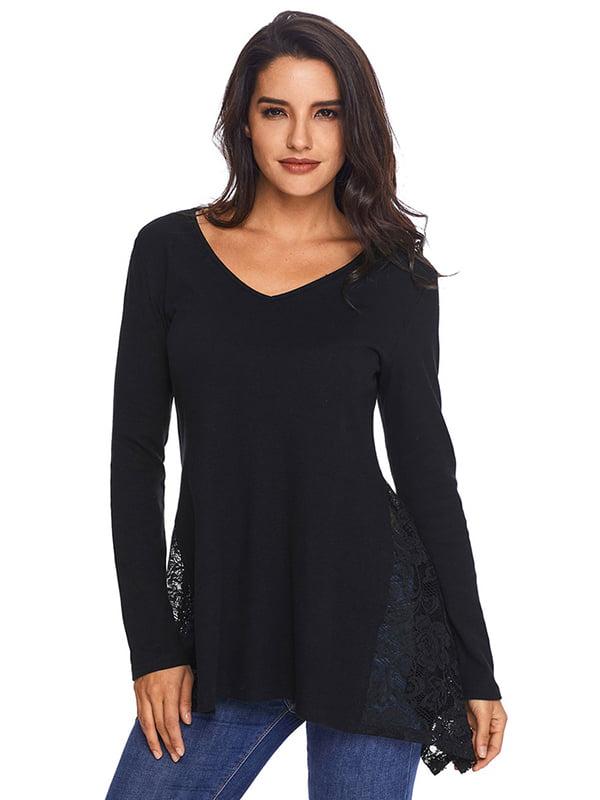 Блуза чорна | 4341284