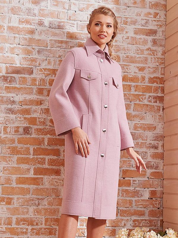 Пальто розовое | 4068315