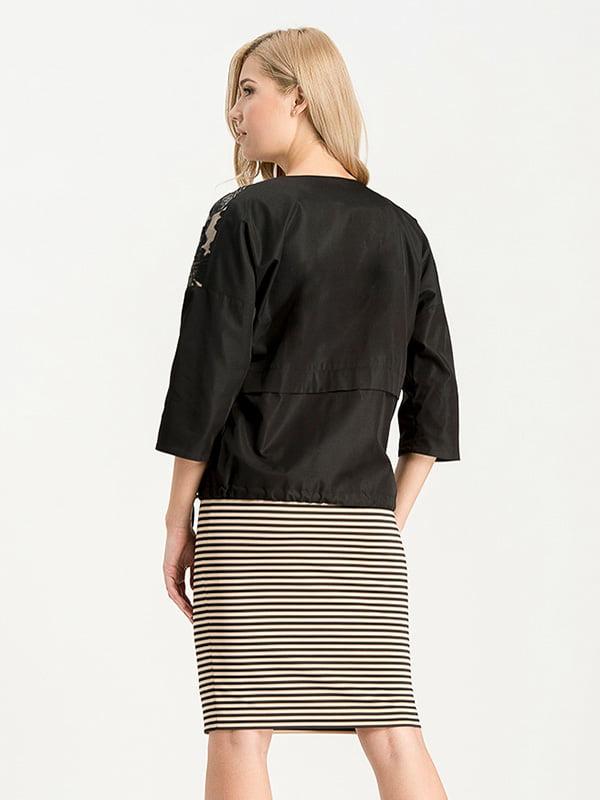 Куртка черная | 4068300 | фото 2
