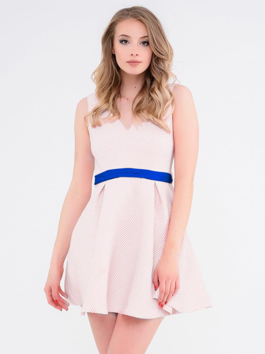 Платье розовое | 4271921