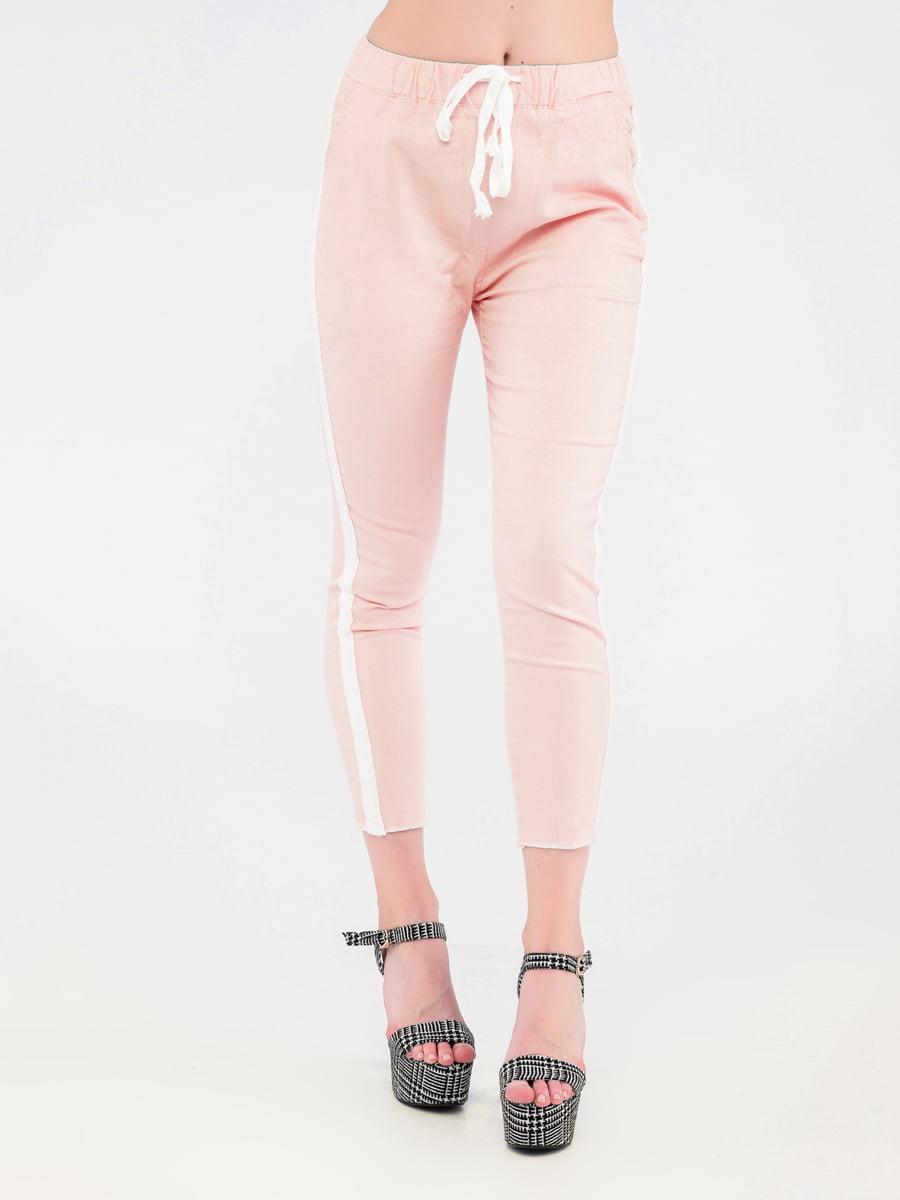 Штани персикового кольору | 4271937
