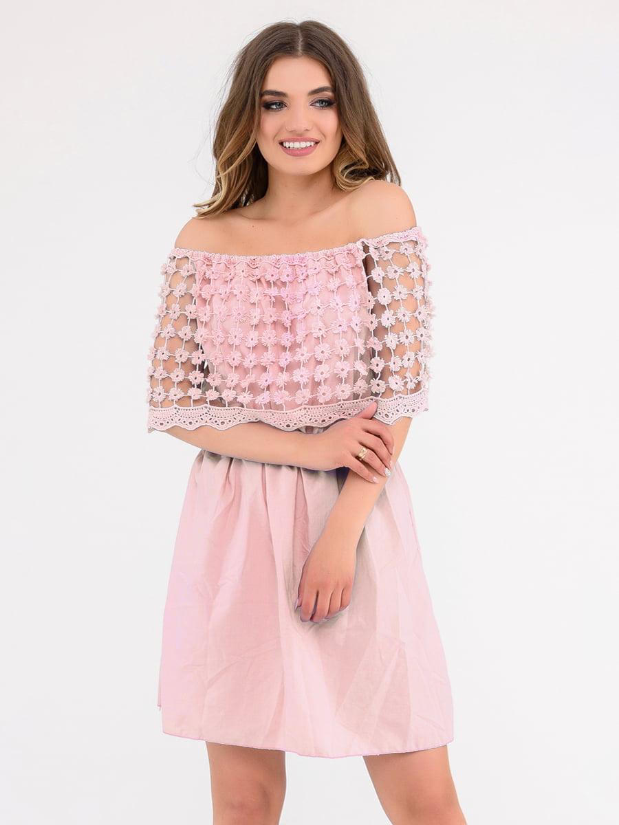 Платье розовое   4271965