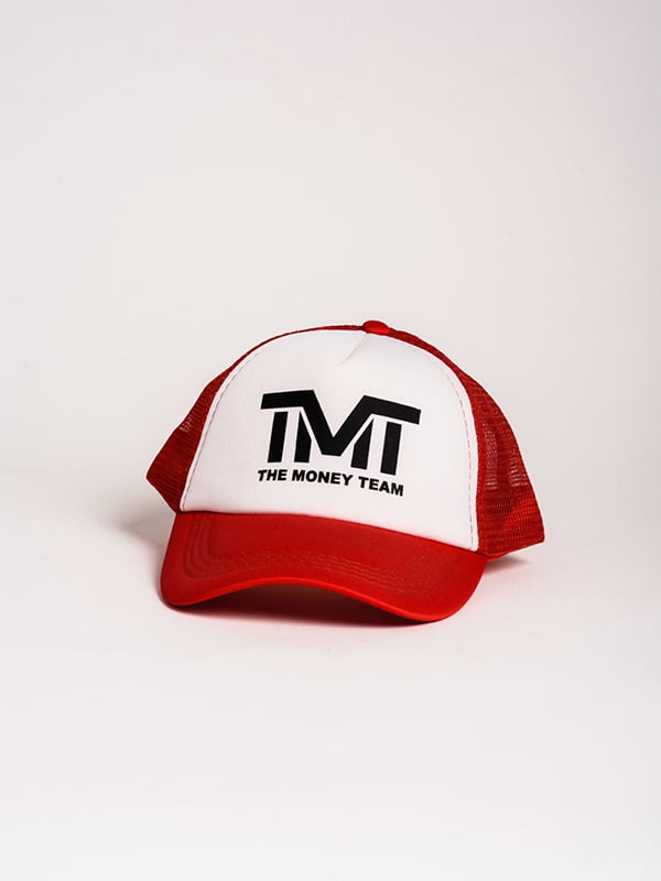 Бейсболка красно-белая | 4298606