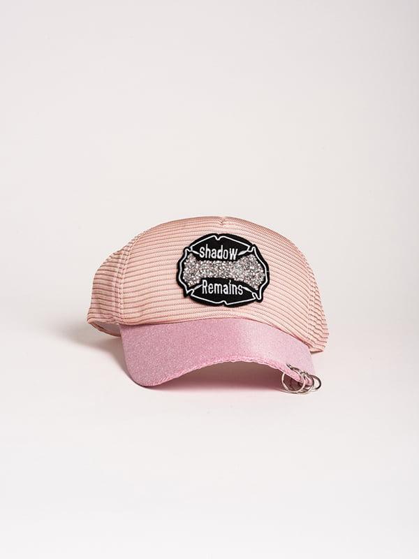 Бейсболка рожева | 4298627