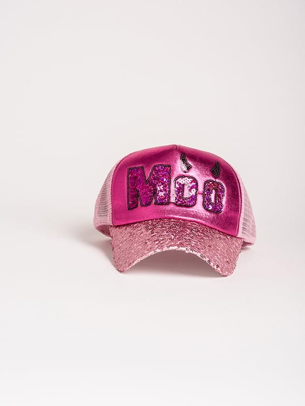 Бейсболка рожева | 4298630