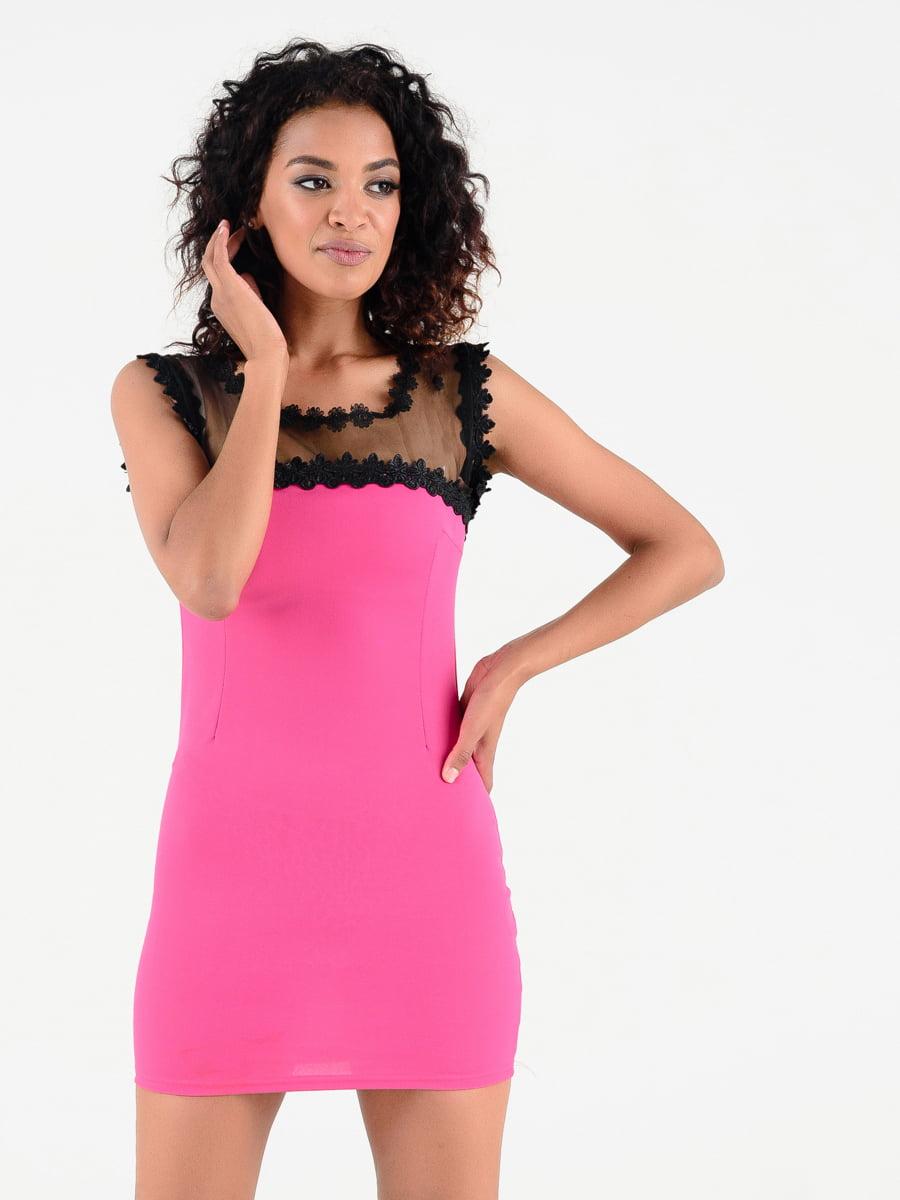 Сукня малинового кольору | 4312301