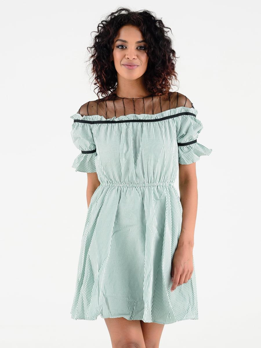 Платье бирюзовое | 4312348