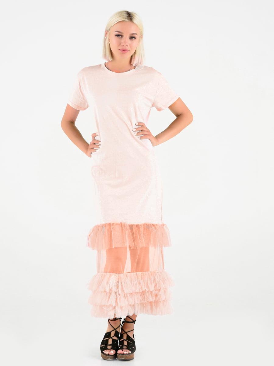 Сукня рожева   4342636
