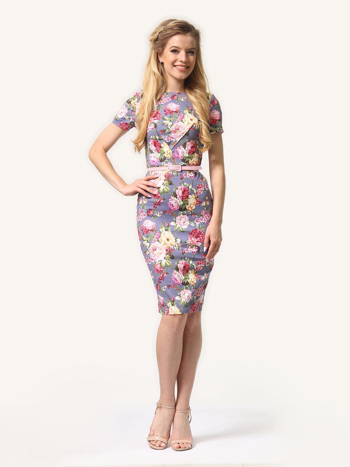 Сукня в квітковий принт | 4343493