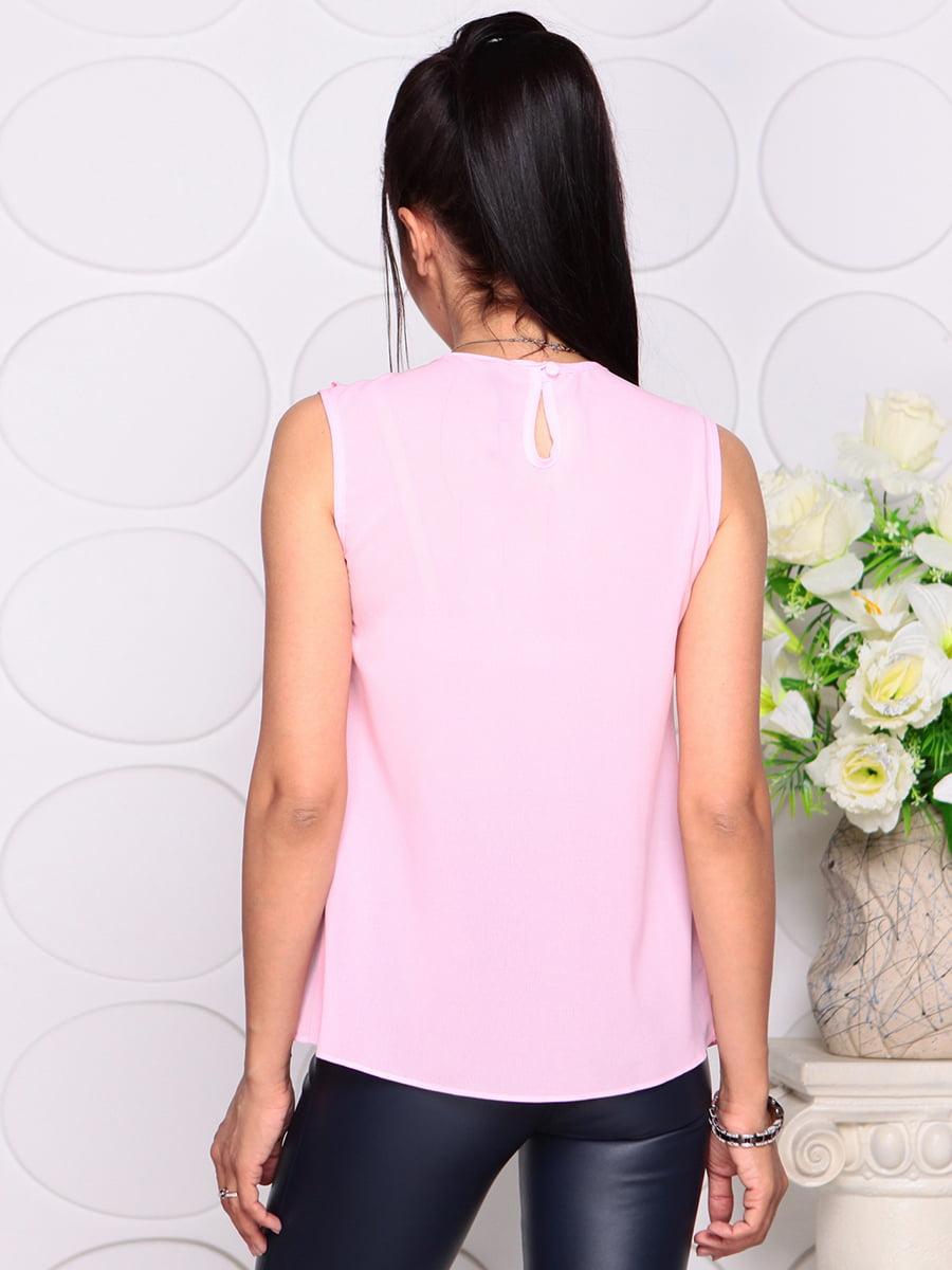Блуза нежно-розовая | 4343337 | фото 2