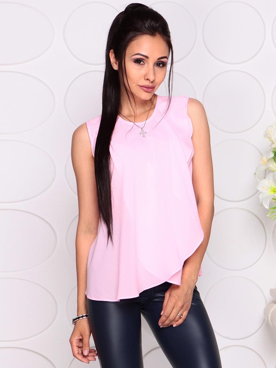 Блуза нежно-розовая | 4343337 | фото 4