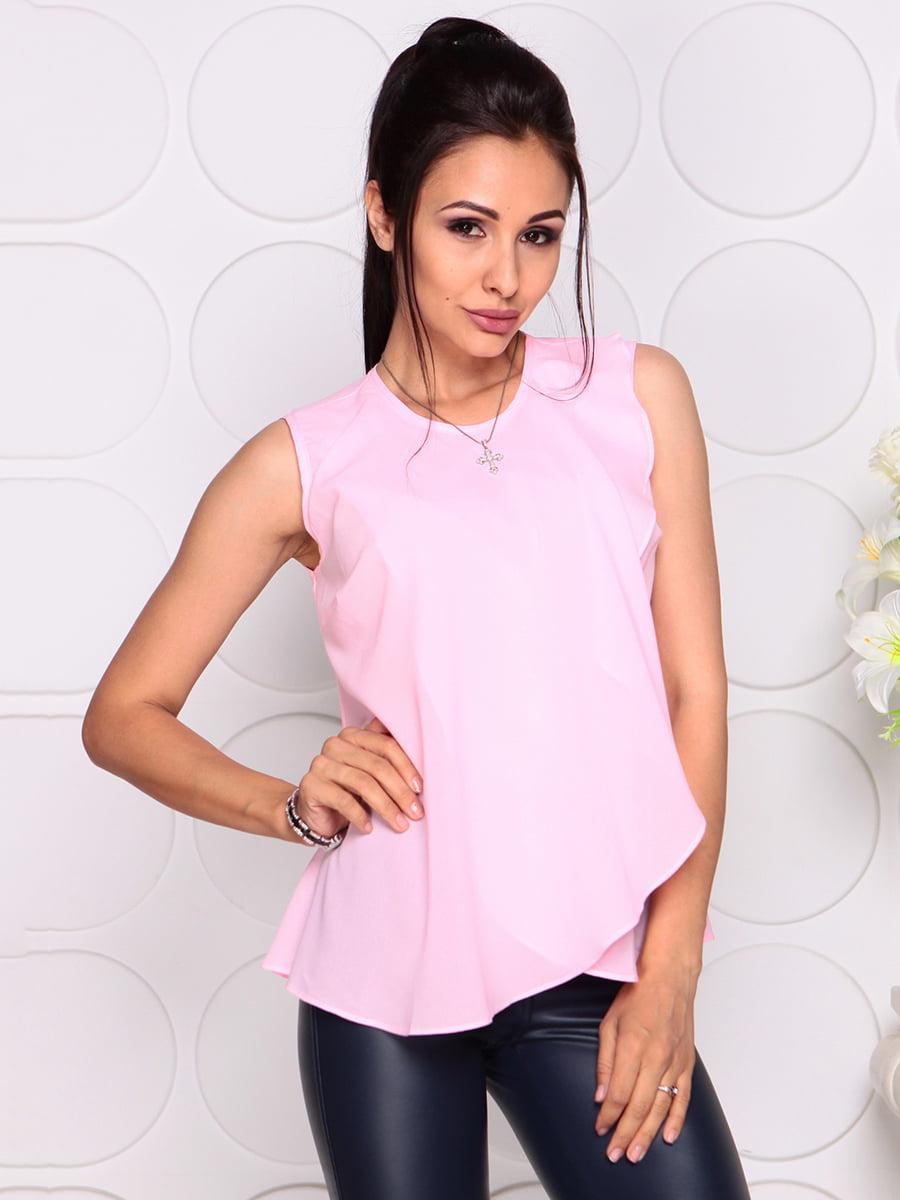 Блуза нежно-розовая | 4343337 | фото 5