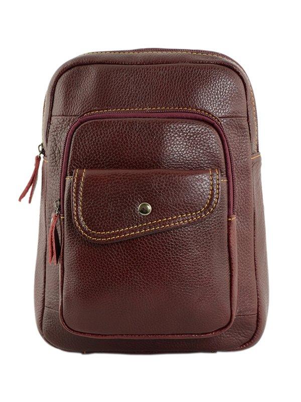 Рюкзак темно-вишневого цвета   4293508