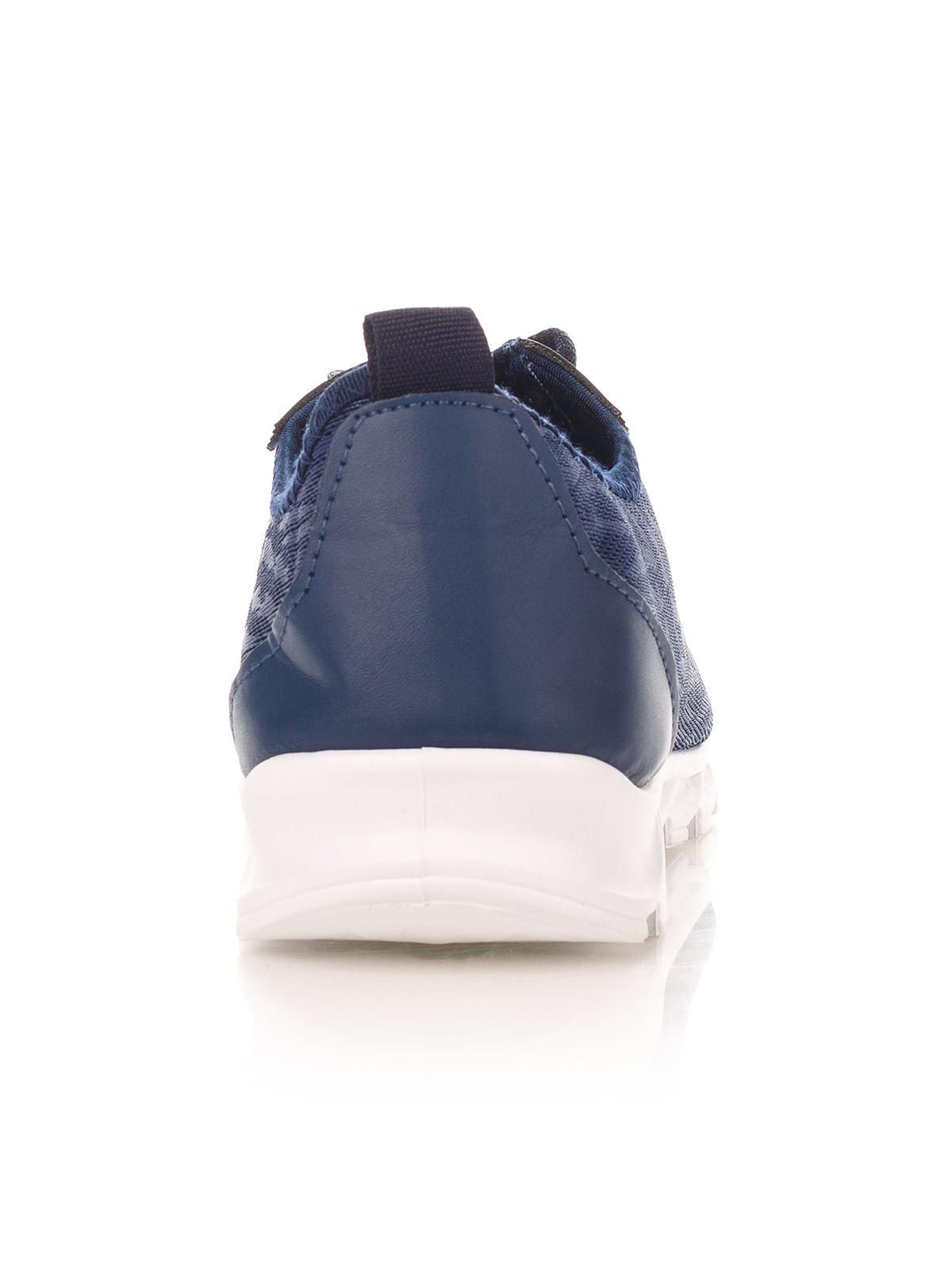 Кроссовки синие | 4341134 | фото 3