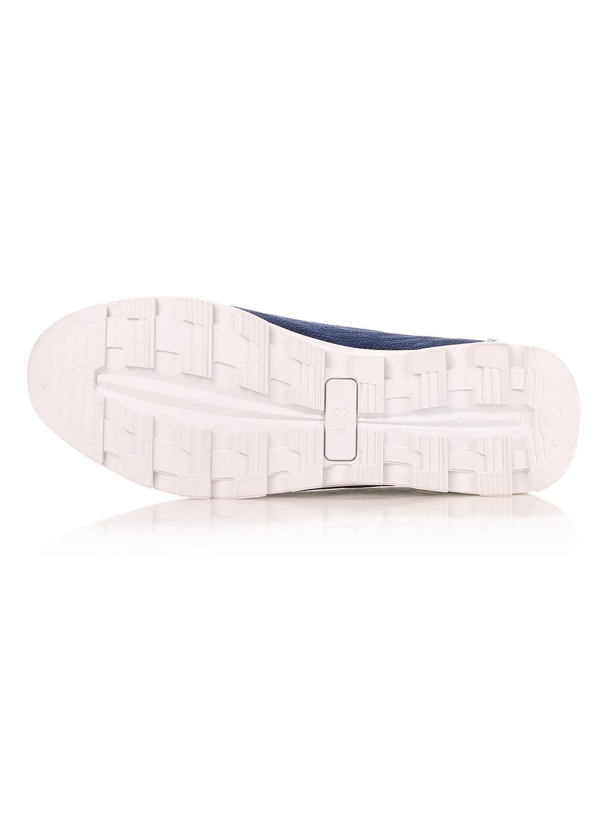 Кроссовки синие | 4341134 | фото 4