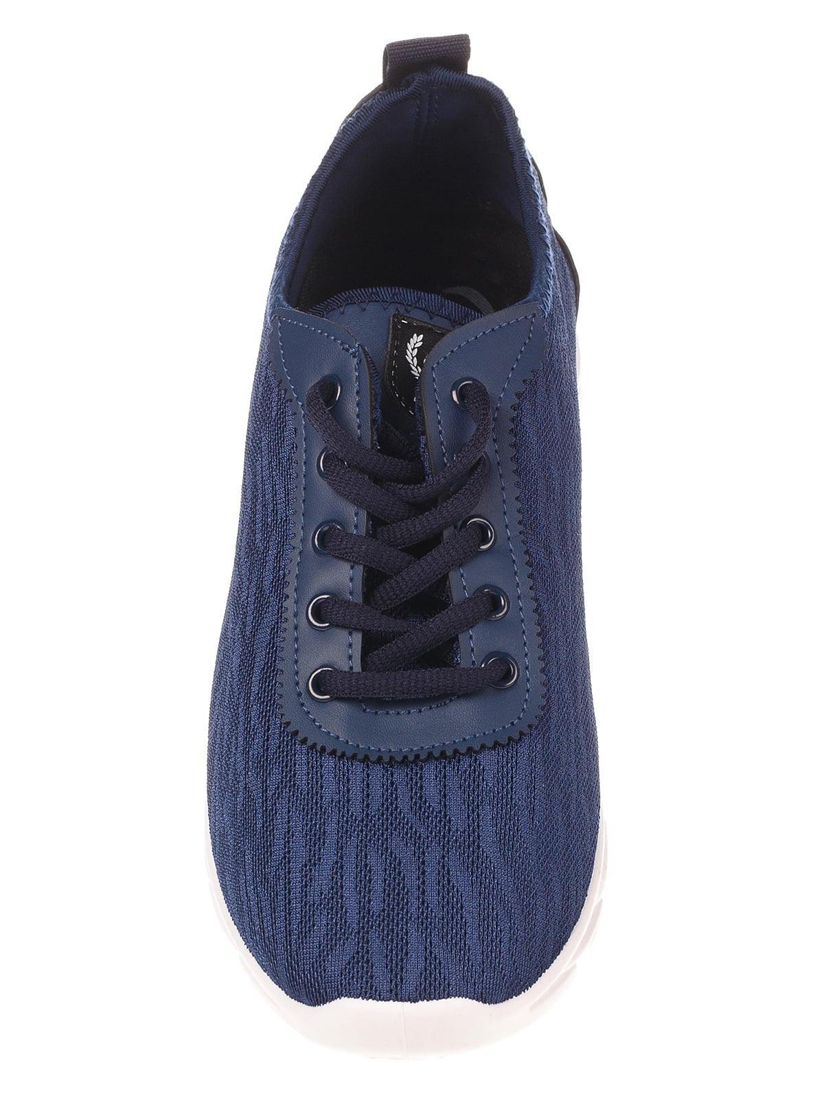 Кроссовки синие | 4341134 | фото 5