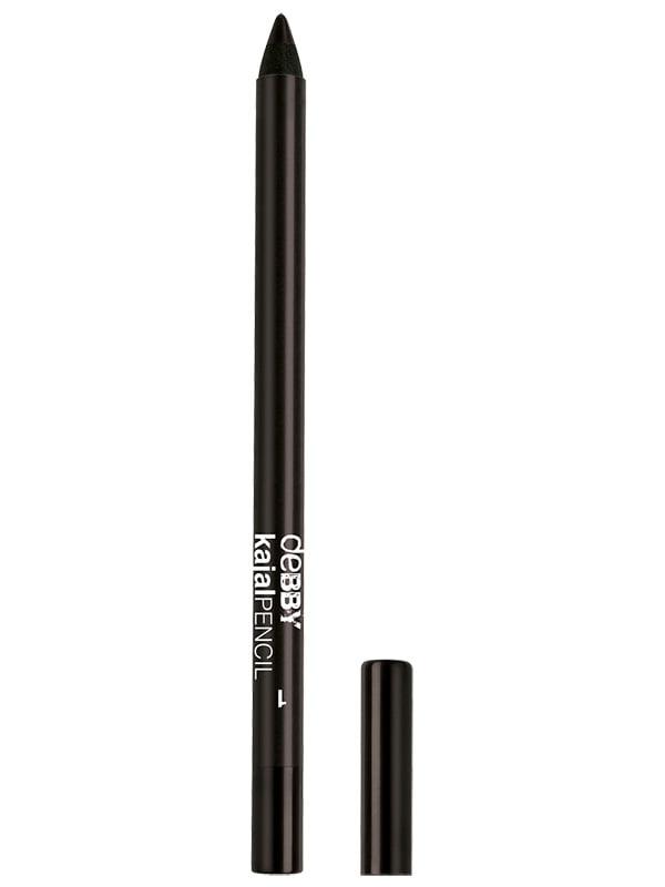 Олівець для очей водостійкий Kajal - №1 (1,5 г) | 4346871