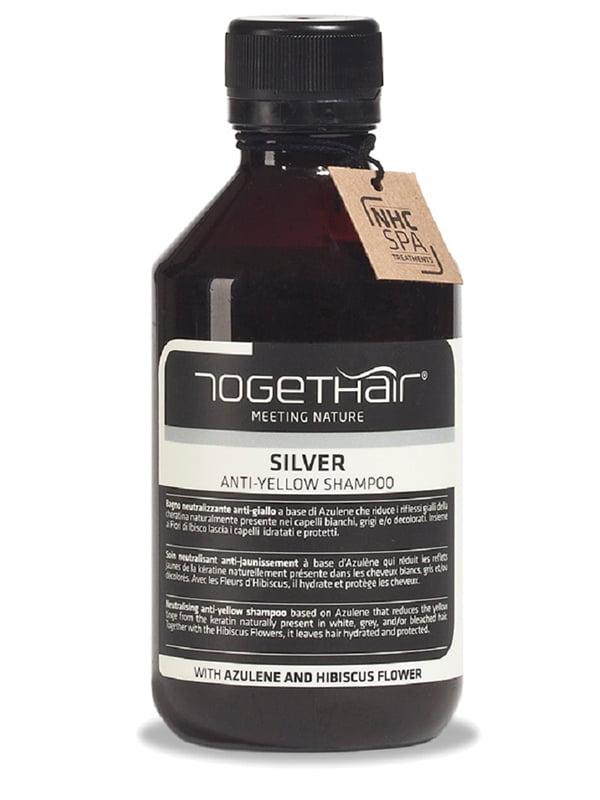 Шампунь проти жовтизни освітленого і сивого волосся (250 мл)   4347126