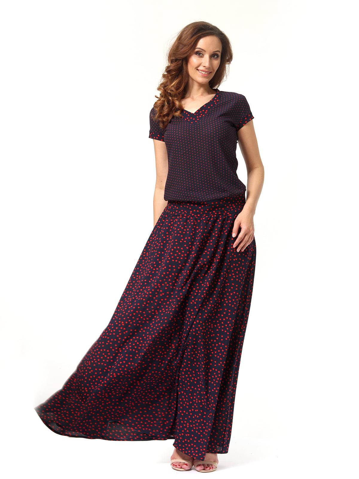 Костюм: блуза і спідниця | 4347629