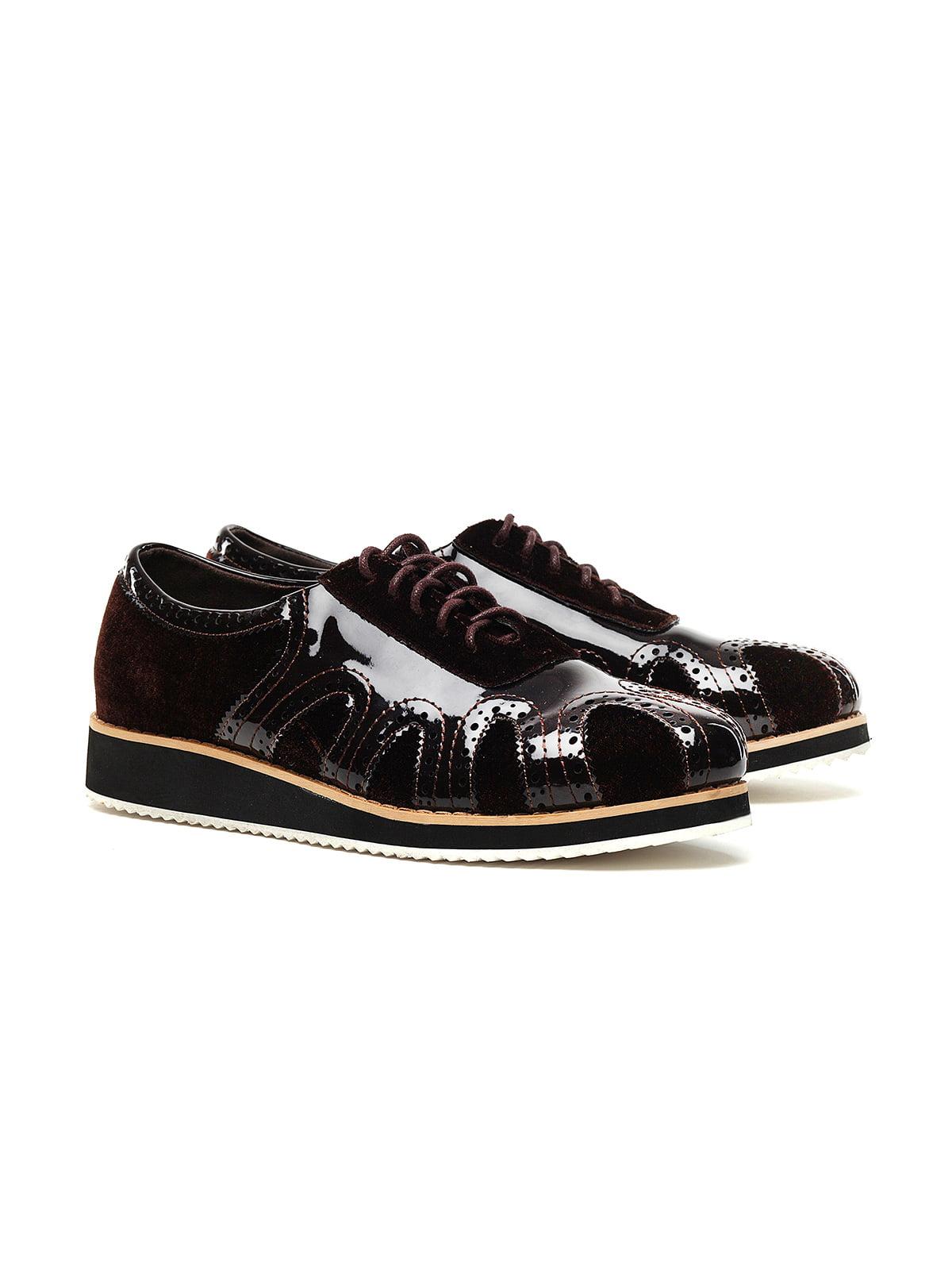 Туфли темно-коричневые | 4348899