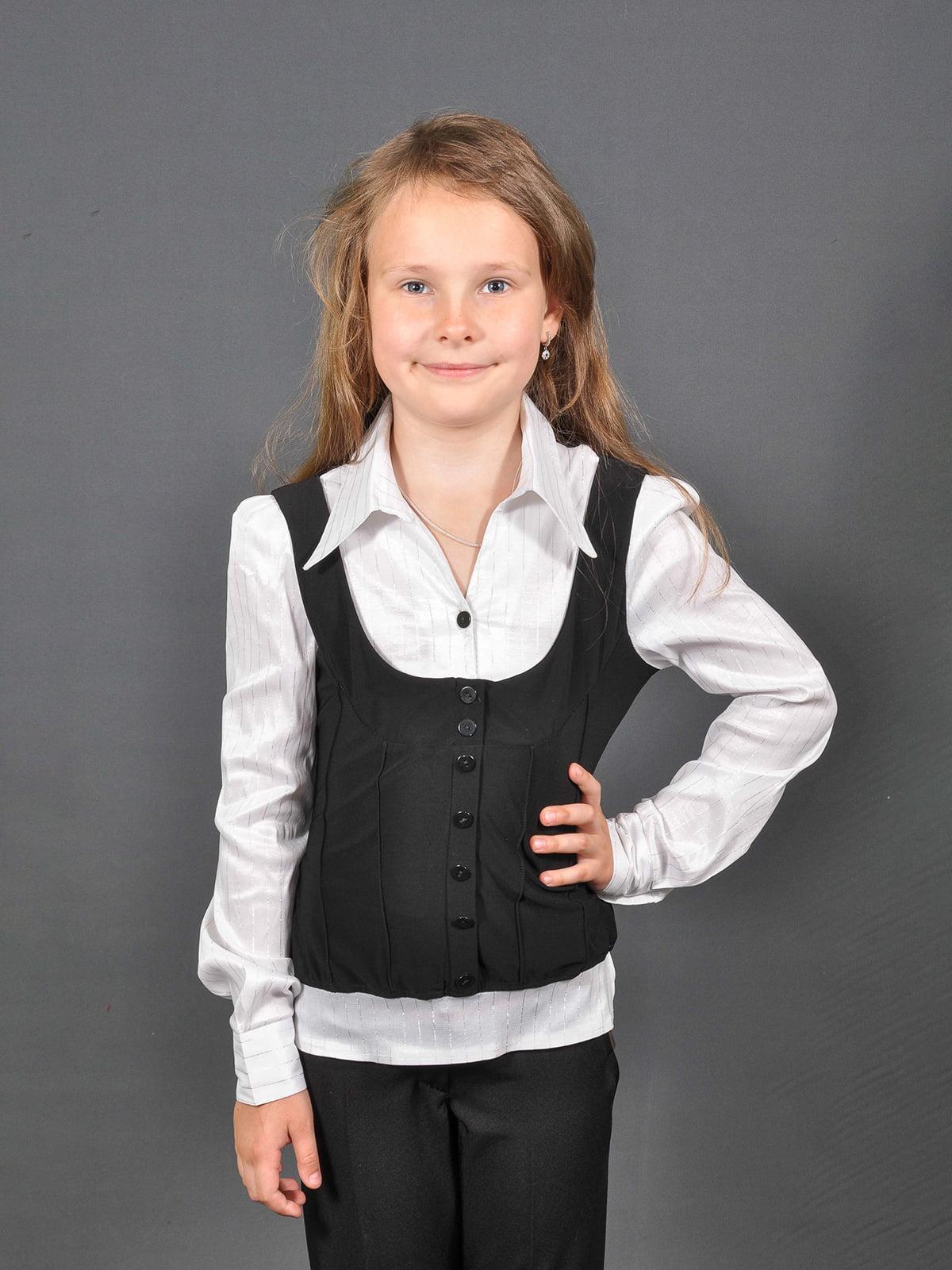 Блуза белая   4274915