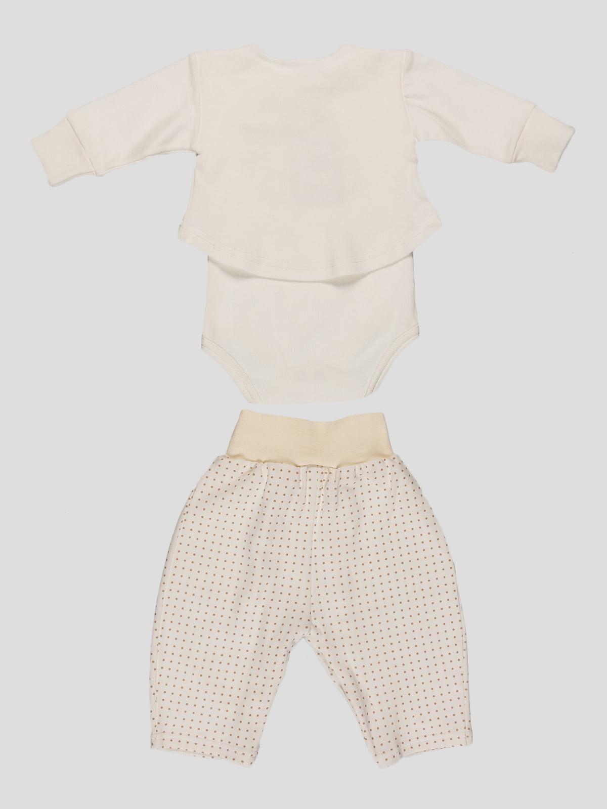 Комплект: боди и брюки   4292267   фото 2