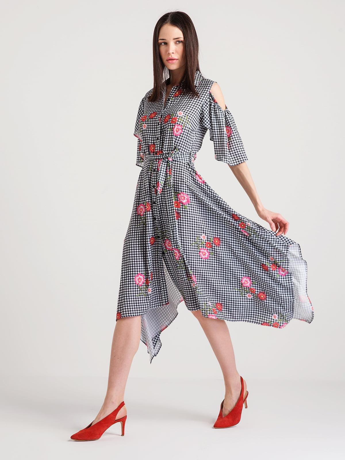 Платье в клетку | 4351084