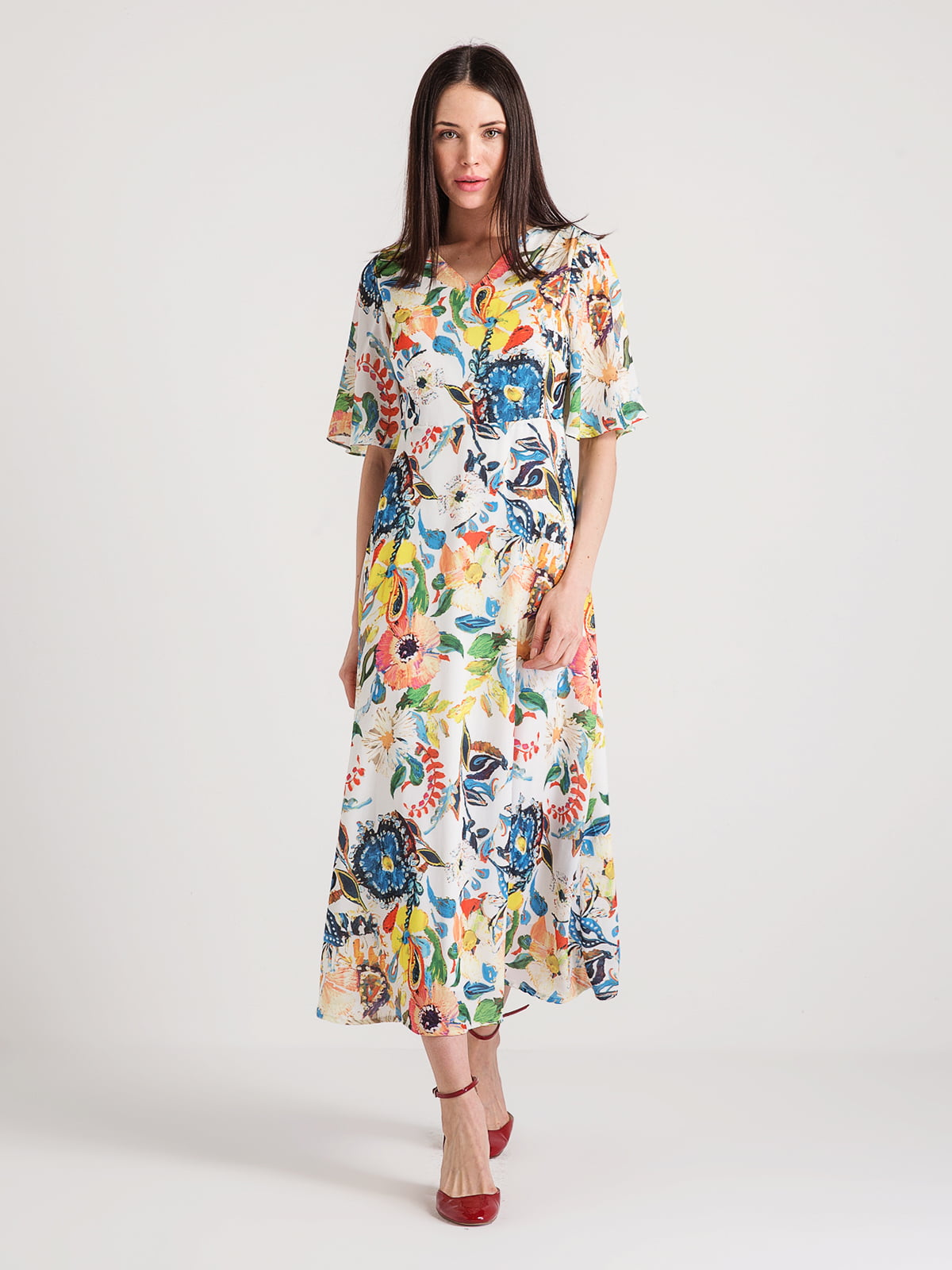 Сукня в квітковий принт | 4351093