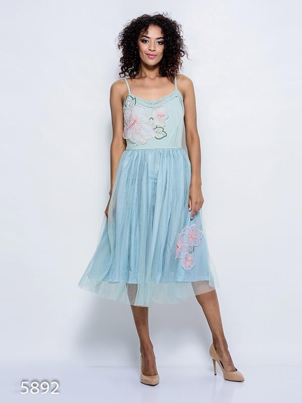 Сукня блакитна | 4352348