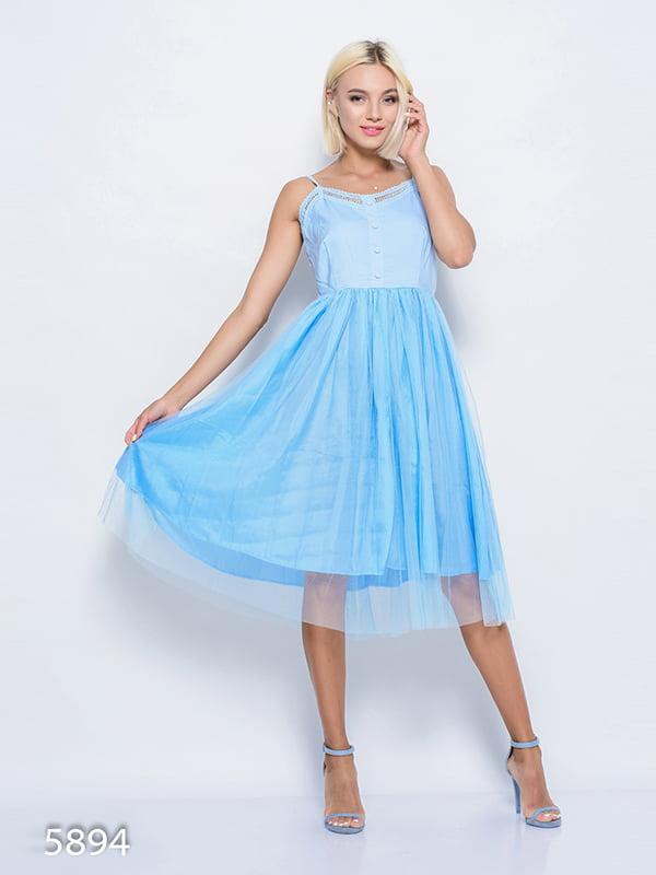 Сукня блакитна | 4352350