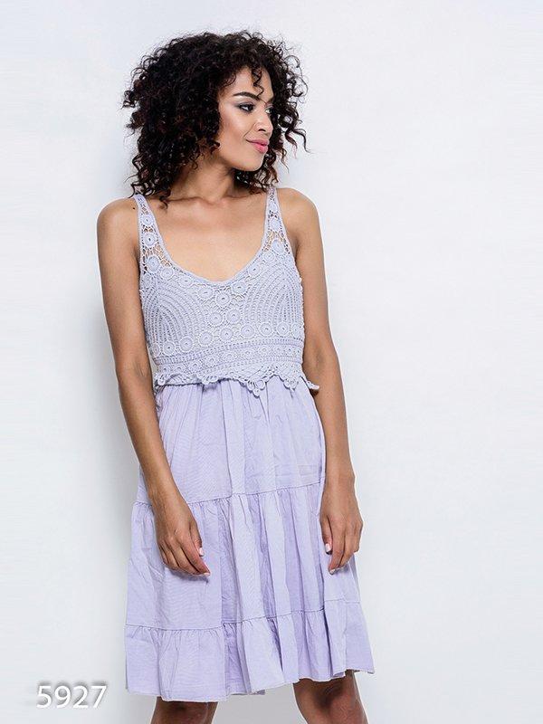 Платье серое | 4352393