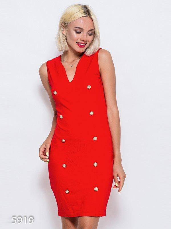 Платье красное | 4352394