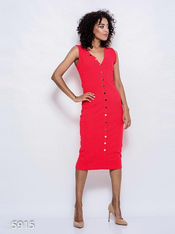 Платье красное | 4352400