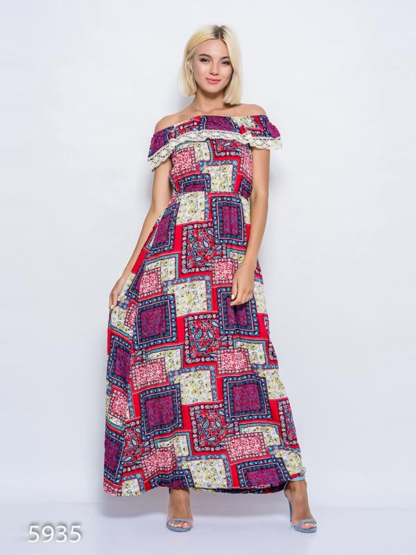 Платье разноцветное | 4352411