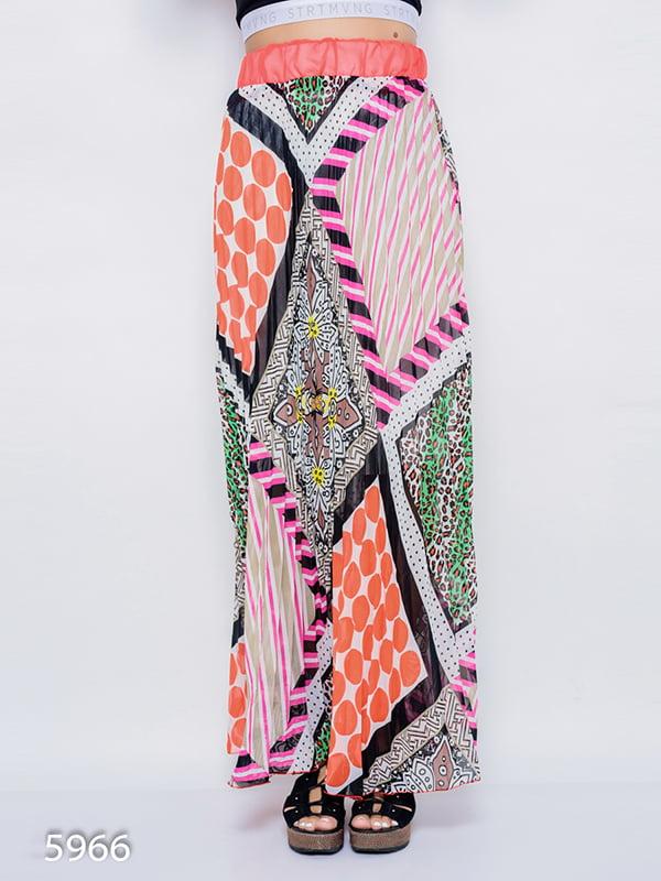 Юбка комбинированной расцветки | 4352522