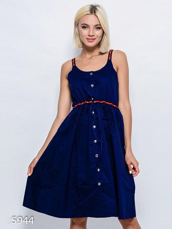 Платье темно-синее   4352532
