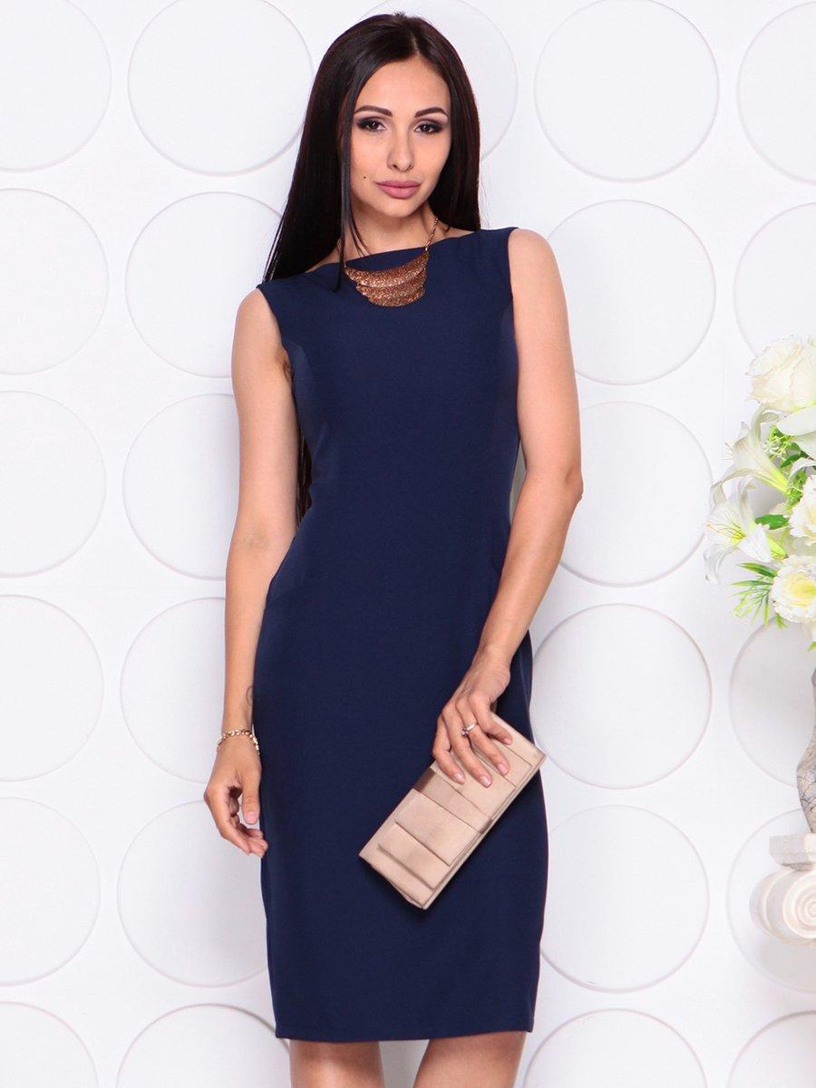 Платье темно-синее | 4353921