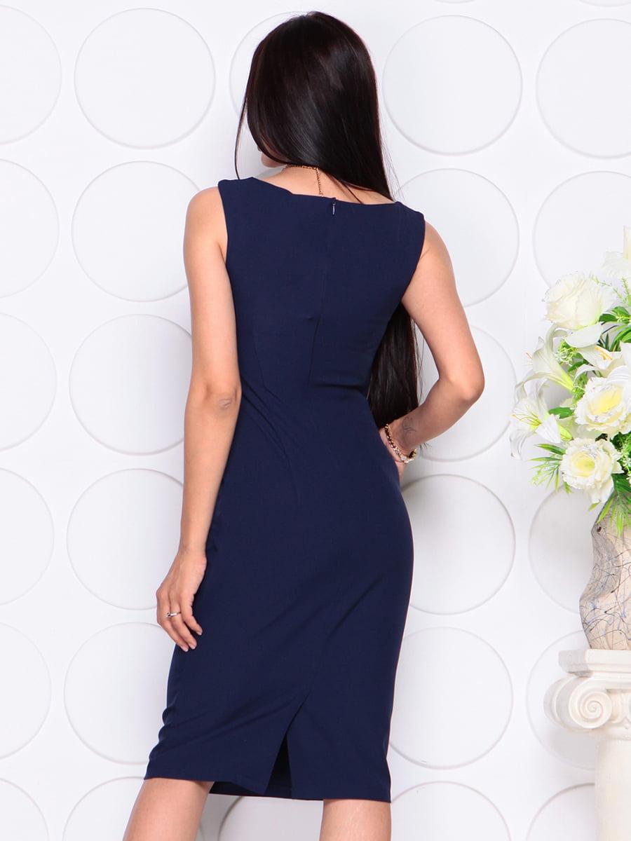 Платье темно-синее | 4353921 | фото 2