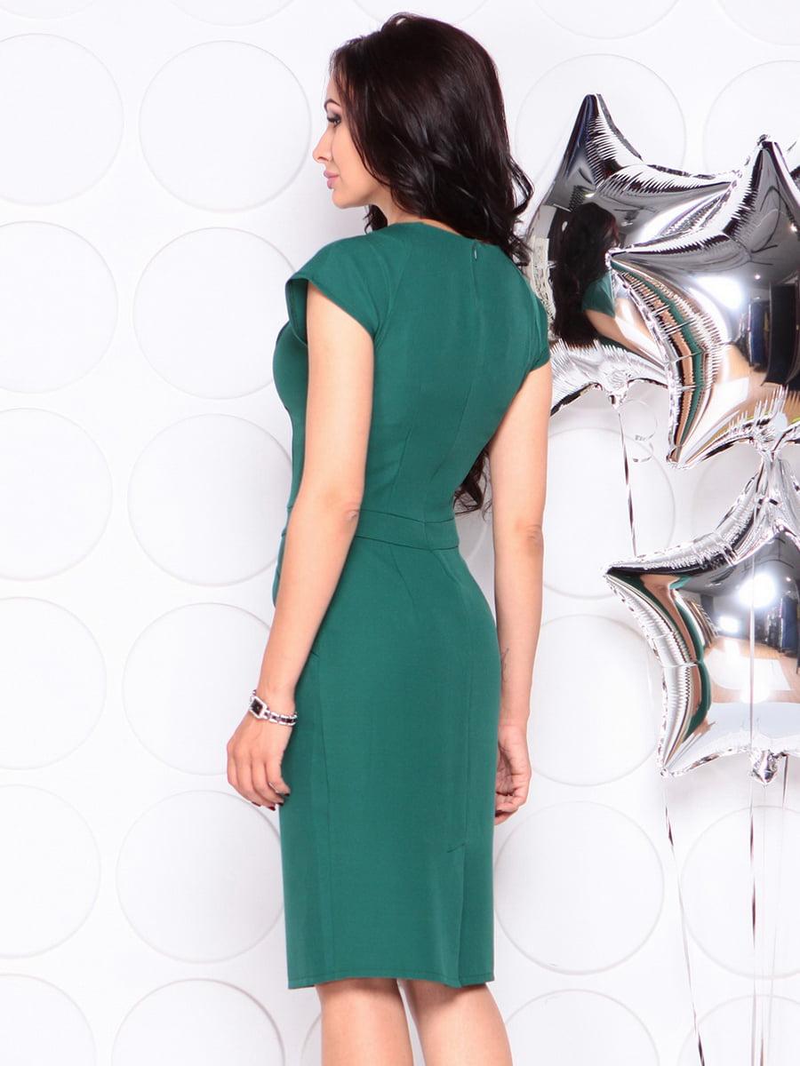 Платье темно-изумрудное   4353939   фото 2