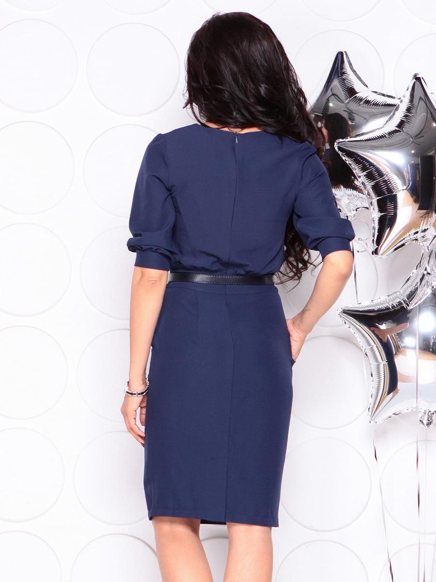 Платье темно-синее | 4353965 | фото 2